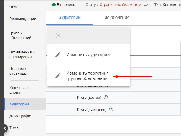 Ремаркетинг в Google ADS